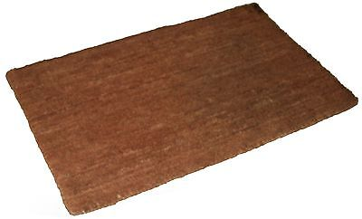 Various Sizes Plain Extra Large Coco Coir Mat 25mm Thick