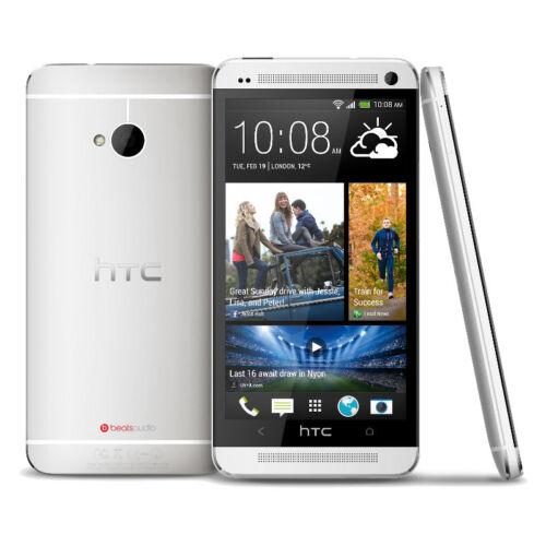 1 von 1 - HTC One M7 - 32GB - Silber (Ohne Simlock) Smartphone