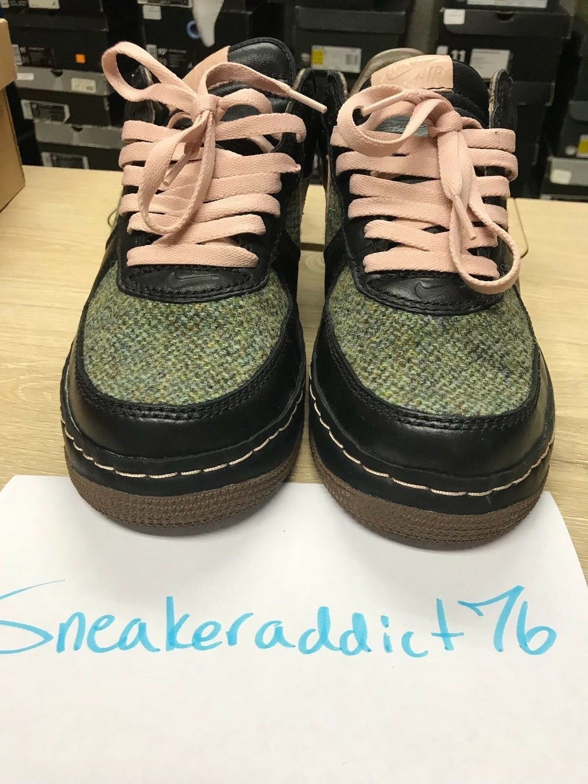 2005 Nike Air Force 1 Low InsideOut Tweed 312268‑061 Men's Size 10.5 IN BOX VNDS