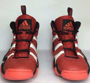 various colors 6ecab 16ddf Image is loading Adidas-G20784-Red-Black-White-Kobe-Basketball-Shoes-
