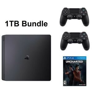 PS4-Slim-1TB-Console-System-Uncharted-The-Lost-Legacy-Bundle-PlayStation-4-NEW