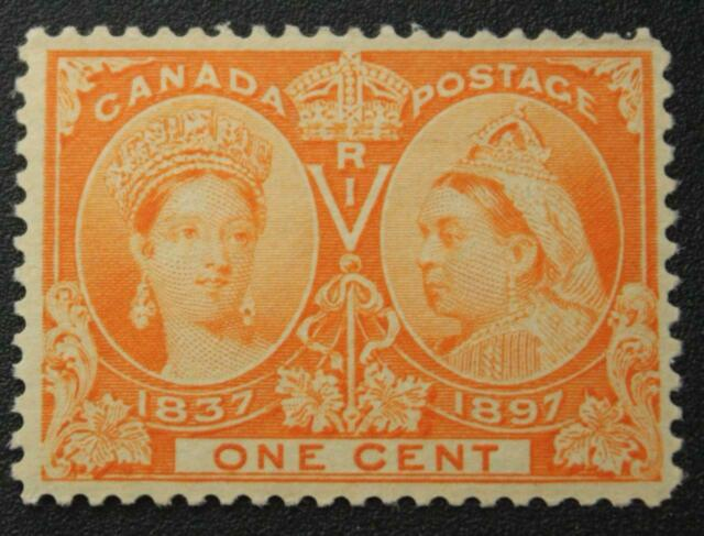 Canada #51, VF, MNH OG, Queen Victoria Jubilee Issue 1897