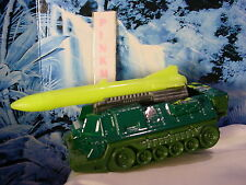 2017 JUNGLE MISSION Design ATTACK TRACK☆Army Green; Green Missle☆LOOSE☆Matchbox