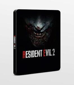 Details about RESIDENT EVIL 2 REMAKE NEW STEELBOOK SEALED PS4 PC XBOX G2  SIZE METAL CASE BOX
