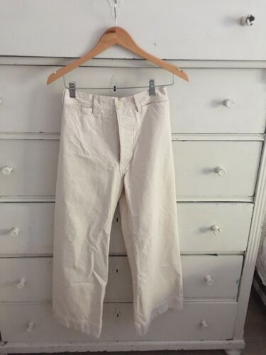 Jesse Kamm Sailor Pants - Natural Canvas S