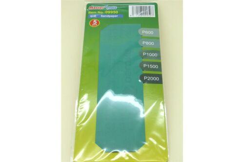 Sandpaper Assortment TRUMPETER 09950 Assortiment Papier Abrasif