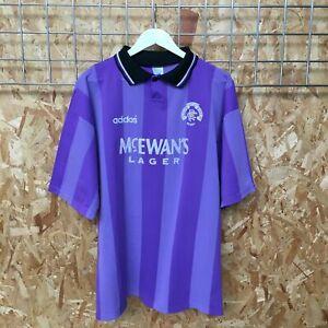 Rangers Adidas 3RD European Shirt 1994/1995 - 44'/46' XL - Top Lilac Purple