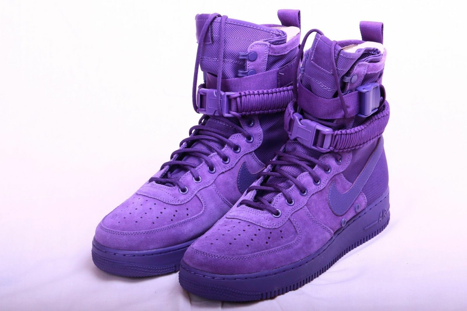Nike SF AF 1 Air Force 1 Court Purple Suede  Size US 11 Men 864024 500 New