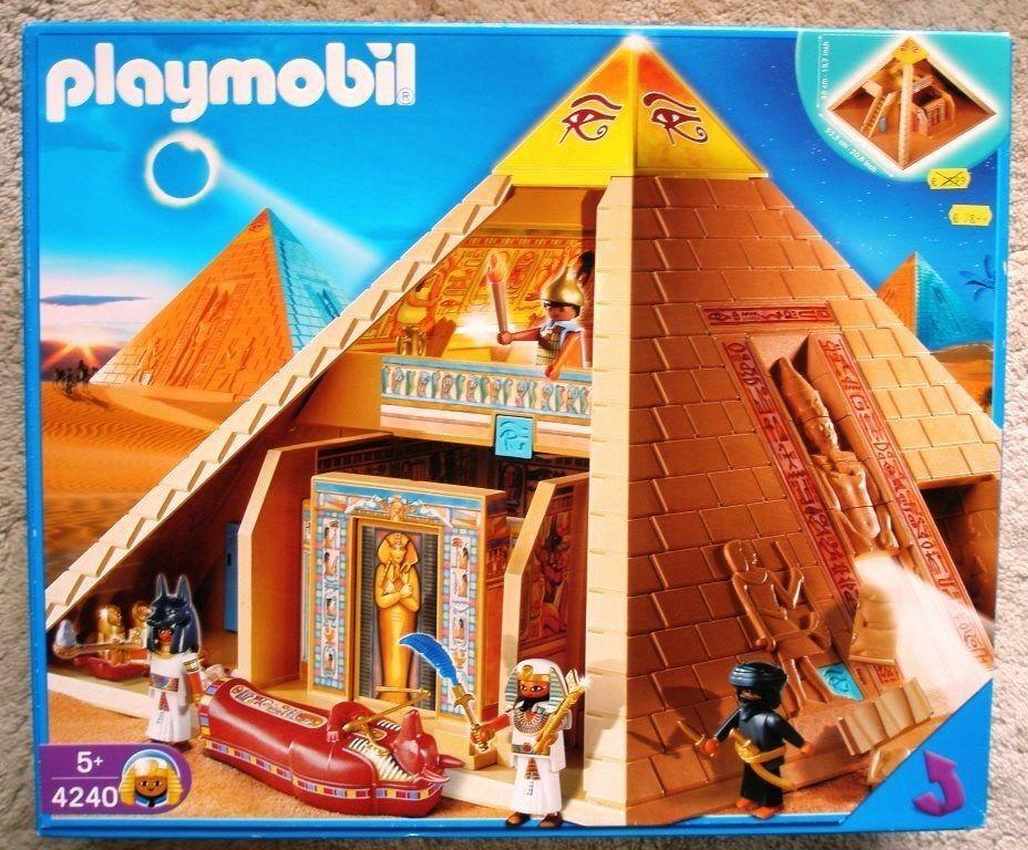 Playmobil Pirámide egipcia descatalogada en caja completa