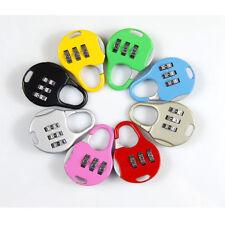 3 Digit Dial Baggage Lock Password Lock Code Lock Pad Locks Cartoon Color Random For Sale Online Ebay