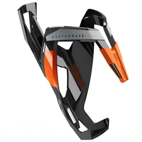 Lucido Elite Portaborraccia Custom Race Plus Nero Logo Arancione