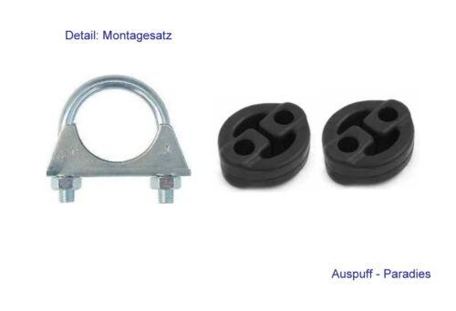 Endschalldämpfer échappement ALFA ROMEO 156 1.6 16 V + Kit 1.8 16 V /& 2.0 16 V T.S. 932