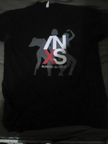 INXS SUICIDE BLOND T-SHIRT LARGE