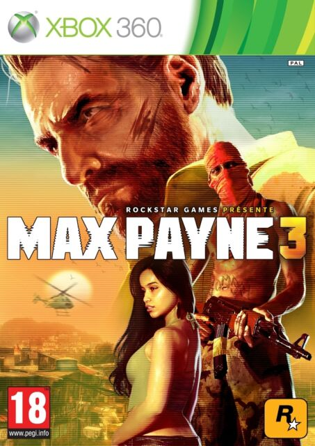 NEUF - jeu MAX PAYNE 3 pour XBOX 360 en francais game spiel juego gioco NEW