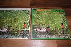 BASKI-HOLZ-PUZZLE-mit-30-TEILEN-nach-Heinrich-Gohl-Sigloch-Edition-ca-1980