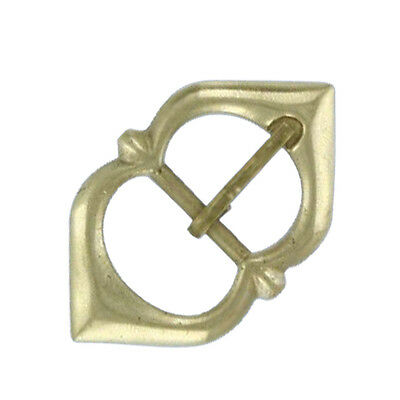 Medieval Renaissance Brass Gothic Cathedral Viking Accessory Belt Buckle