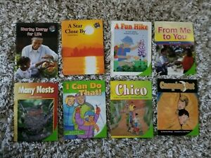 Kids-Childrens-Books-Health-Science-Leveled-Readers-Lot-of-8