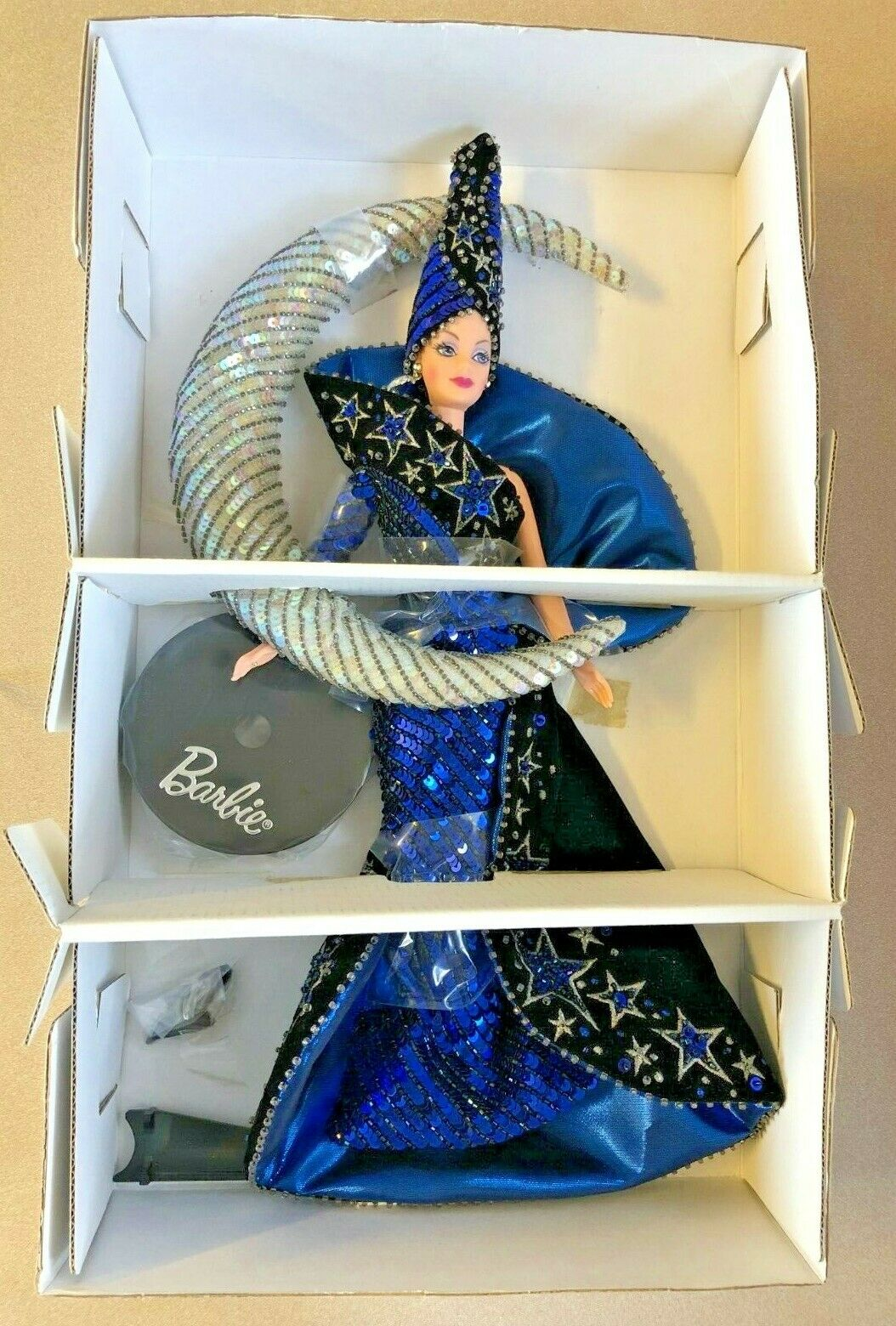 VINTAGE 1996 MOON GODDESS BARBIE Doll by Bob Mackie MATTEL  14105  MIB   NEW