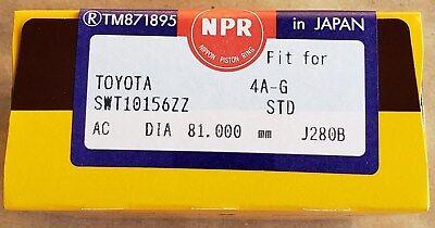 Fits 93-97 Toyota Corolla Celica Geo Prizm 1.6L 1.8L DOHC Piston Rings 4AFE 7AFE