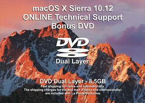 macOS X Sierra 10.12 - ONLINE Technical Support - Bonus DVD DL