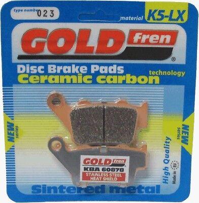 GOLDFREN K5-LX REAR BRAKE PADS YAMAHA XT 660 R 2004 - 2014