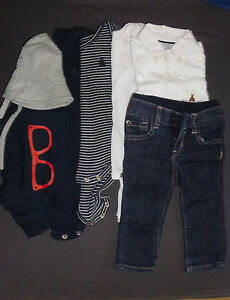 Baby-GAP-outfit-bundle-of-7-items-size-3-6-months