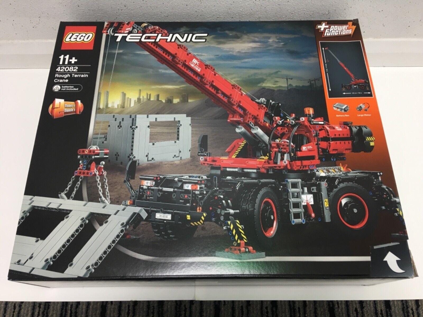 Technic Rough Terrain 42082 New Sealed Crane Lego Nbmvun6450