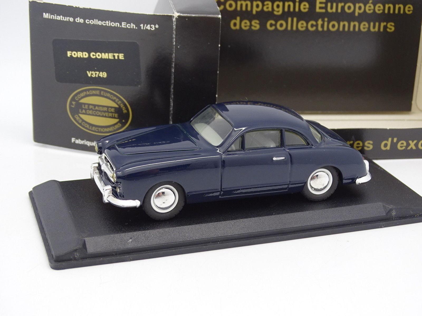 Leader Résine CEC 1 43 - Ford Comete Bleue