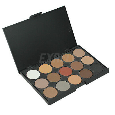 Cosmetic Matte Eyeshadow Cream Eye Shadow Makeup Palette Shimmer Set 15 Color