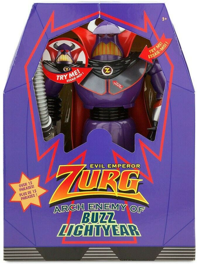 leksak berättelse Evil kejsare Zurg Action Figur [Arch Enemy of Buzz ljusyear]