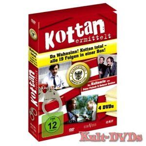 Kottan-ermittelt-Alle-19-Folgen-4-DVD-Box-komplette-TV-Serie-Neu-OVP