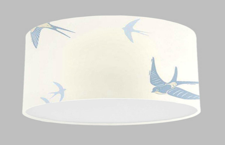 Abat-jour fait main avec Laura Ashley Blue Birds Seaspray Seaspray Birds wallpaper l'abat-jour 693f80