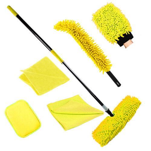 Set 8 pezzi di pulizia Scope Scope IDEALE per Uso Salone o Casa Spazzatrice per pavimenti