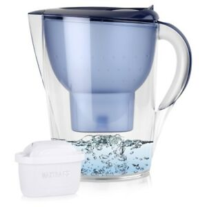 BRITA-Marella-XL-3-5L-Wasserfilter-Blau-amp-1x-Maxtra-Kartusche