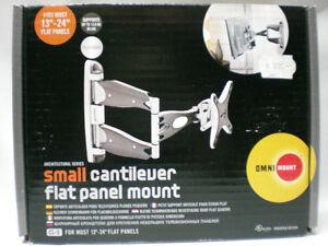 Omnimount-cl-s-Small-pequenas-telescopio-soporte-para-las-pantallas-planas-Platinum