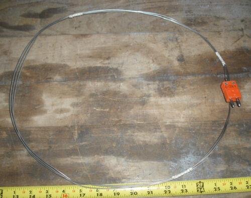 "Thermocouple probe 120/"" long,1//16/"" Sheath,Round Pin Connectors"