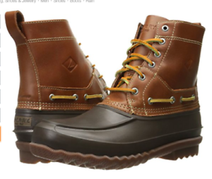 Sperry Top-Sider Mens Decoy Rain Boot