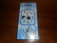 Disney Frozen Sticker 4 Wall Clock, And 16 Stickers