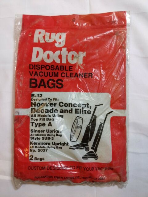 Rug Doctor Type A Vacuum Cleaner Bags