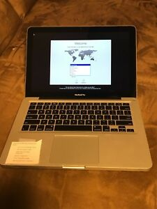 Used Macbook Pro >> Details About Barely Used Macbook Pro Mc700ll A Early 2011