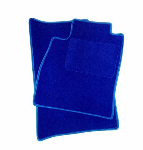 Laguna azul gamuza auto alfombras tapices azul 2 plazas Dacia Lodgy a partir de 12
