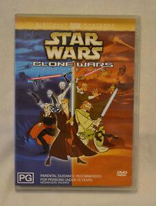 Star-Wars-Clone-Wars-Volume-1-DVD-Rare-Hard-to-Find-Out-of-Print-R4-Tartakovsky