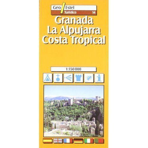 1 of 1 - Granada, Alpujarras - Costa Tropical Tourist Map 1:150, 000 (Tourist Maps) *New*