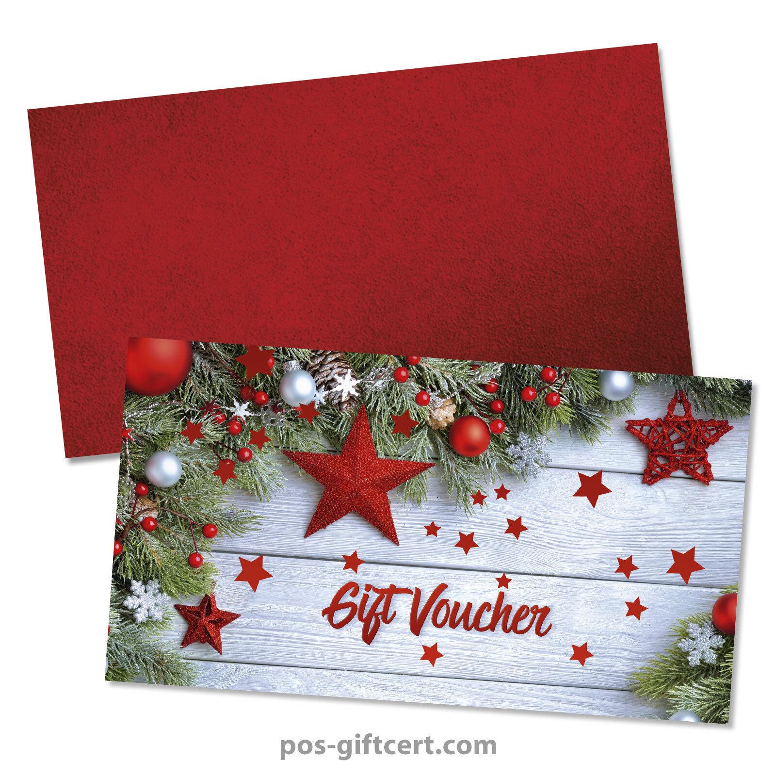 Gift vouchers  envelopes for christmas X1291GB  | Qualitativ Hochwertiges Produkt  | Ausreichende Versorgung