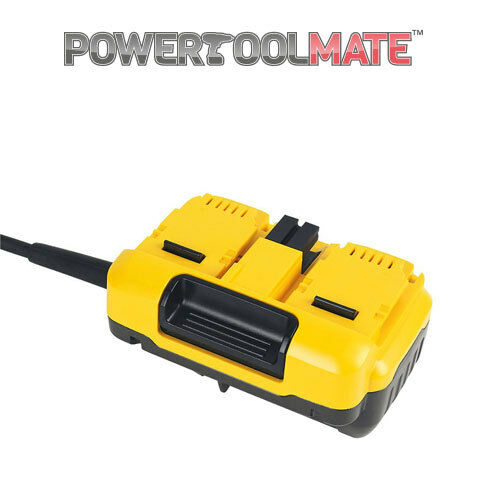Dewalt DCB500 110V XR FLEXVOLT Mains Adapter for 2 x 54V Mitre Saws DHS780