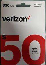 Verizon Prepaid - Refill Card