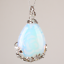 Natural-Quartz-Crystal-Stone-Teardrop-Flower-Healing-Gemstone-Pendant-Necklace thumbnail 23