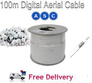 100m-RG6-Satellite-Aerial-Cable-Digital-Coax-Sky-White