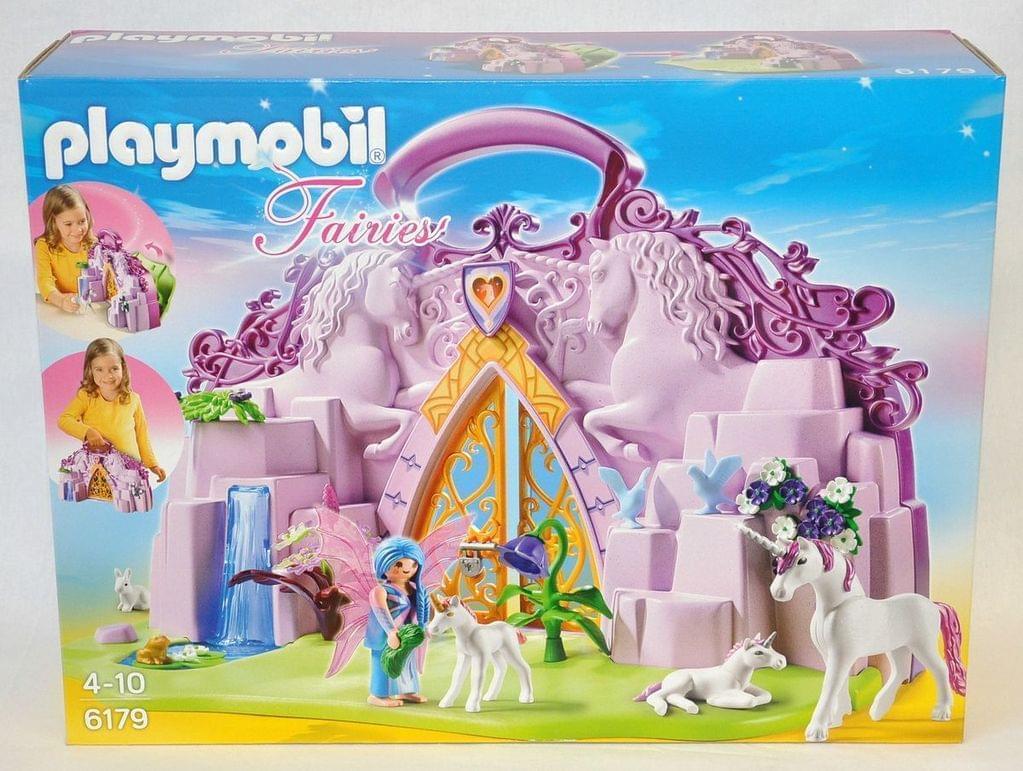 Playmobil Fairies Einhornköfferchen Feenland 6179 Neu & OVP Einhorn Fee Koffer