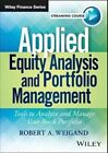 Applied Equity Analysis Video Course by Robert A. Weigand (Digital, 2014)